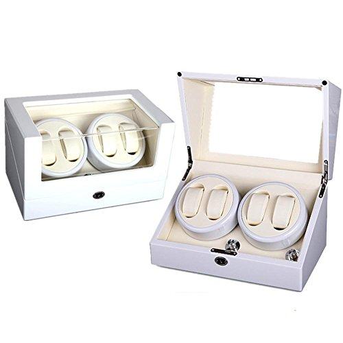 KAIHE-BOX Automatic Watch Winder Winder sstorages box Display Box Case Quiet Mabuchi Motors WB6938 , #11 by KAIHE-BOX