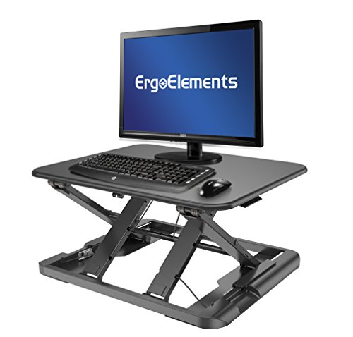 Ergo Elements Bounce Low-Profile Standing Desk Converter