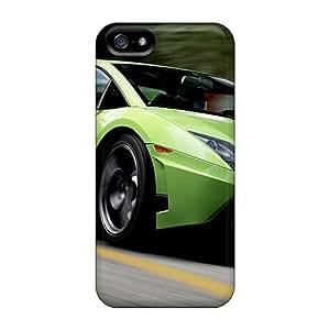 For Iphone 5/5s Tpu Phone Case Cover(lamborghini Superleggera In Forza Motorsport 4)