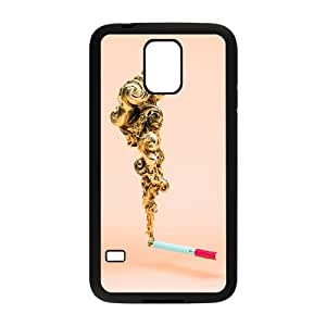 Samsung Galaxy S5 Cell Phone Case Black Marllboro Gold OJ631927