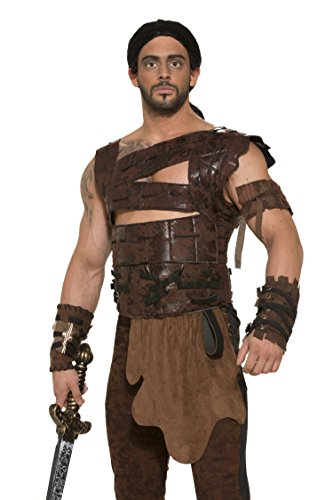 Faux Leather Armor and Belt Costume Accessory - Standard - Chest Size up to (Dothraki Costume)