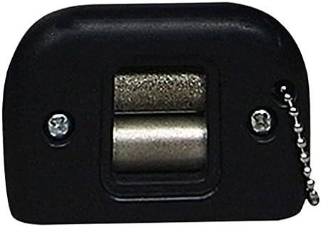 アイスホッケースケート刃 ゴールキースケート刃 研磨 調節可能 持ち運び ブラック