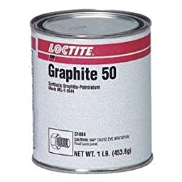 Loctite 51084 Graphite 50 Synthetic and Petrolatum Anti-Seize, 1 lbs Can, Black