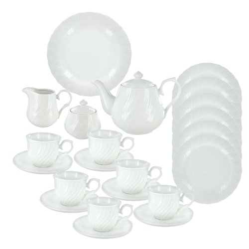 Summertime Deluxe Porcelain Tea Set ()