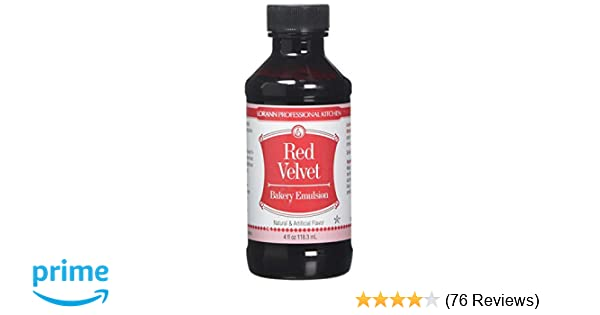 LorAnn Oils Emulsion, Red Velvet, 4 Ounce