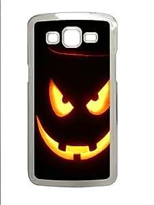 Horror Halloween Pumpkin Custom Samsung Grand 7106/2 Case Cover Polycarbonate Transparent