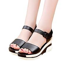 Wedge Sandals, Tenworld Women's High Heels Platform Sandals Shoes