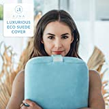 Ajna Yoga Bolster Pillow for Meditation and Support - Rectangular Yoga Cushion - Yoga Accessories from Machine Washable with Carry Handle