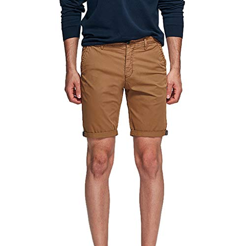 Pengy Mens Shorts Sports Casual Short Pants Trousers Military Cargo Summer Pocket Males Lightweight Shorts Coffee
