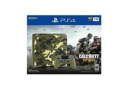PlayStation 4 Slim 1 TB - Call of Duty WWII Bundle