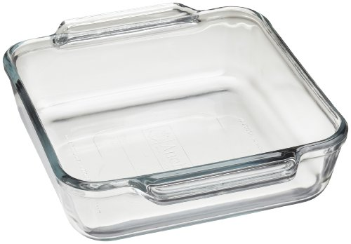 Kitchen Supply 8 Inch Square Glass Baking Dish