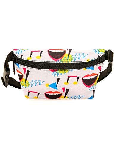 (FYDELITY Fanny Pack Belt Bag Ultra-Slim Fashion -80's Lipps Inc Eighties 1980)