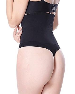 HOLYSNOW Women High Waist Tummy Shapewear Butt Lifter Control Panty