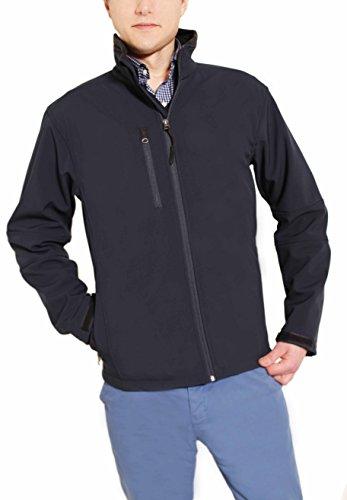 Northfield Sportswear Men's Full-zip Outdoor Waterproof Rain Softshell Jacket