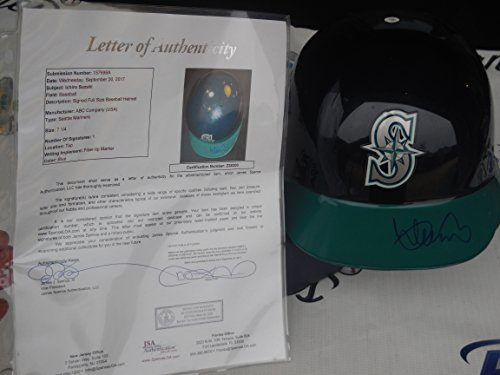 Ichiro Suzuki Signed Seattle Mariners Full Size Authentic Throwback Batting Helmet JSA LOA COA