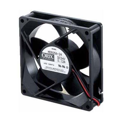 ORIX 24 VDC Axial Cooling Fan - 3.62 in. (W) X 3.62 in. (H) [92 mm (W) X 92 mm (H)]