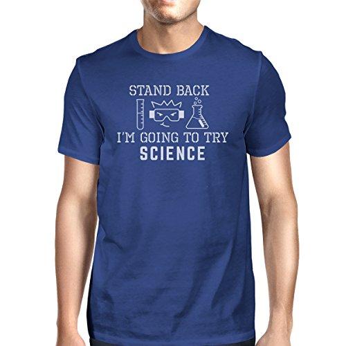 manga nica Camiseta Atr hombre corta de 365 Talla para Printing qfU4OwS