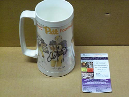 Dan Marino Pitt Panthers Autographed Signed 1985 Pitt Football Plastic Thermal Mug Memorabilia - JSA Authentic ()