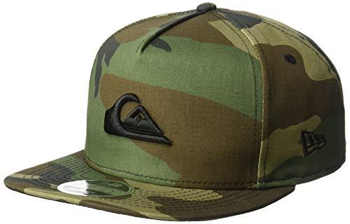 Hat Mesh Era - Quiksilver Men's STUCKLES SNAP Trucker HAT, camo 1SZ