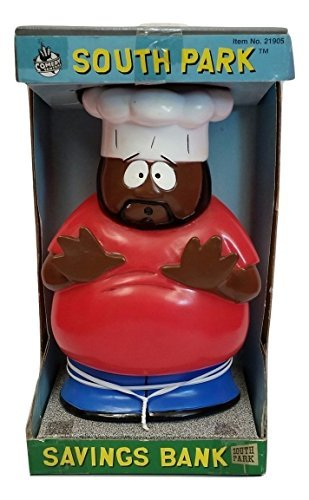 South Park Savings Bank Collectible Chef Figure