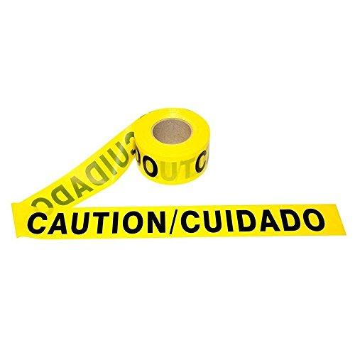 (Cordova T20103 Bilingual Caution/Cuidado Barricade Tape 2.0 mil 3
