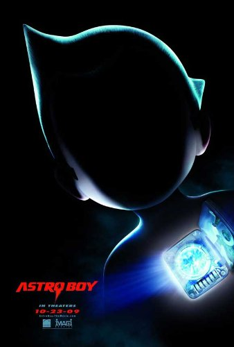 Astro Boy Movie Poster (11 x 17 Inches - 28cm x 44cm) (2009) Style B -(Kristen Bell)(Nicolas Cage)(Bill Nighy)(Freddie Highmore)(Donald Sutherland)(Eugene Levy)