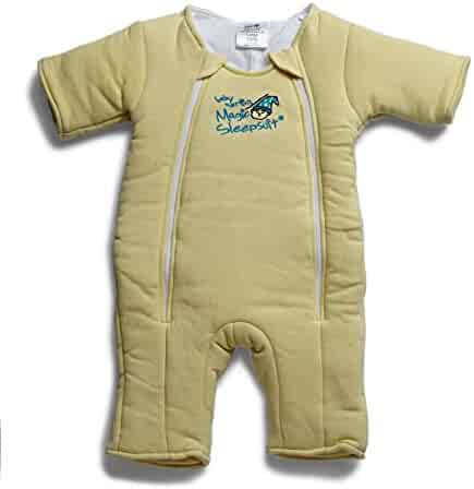 Baby Merlin's Magic Sleepsuit Cotton-Yellow-6-9months