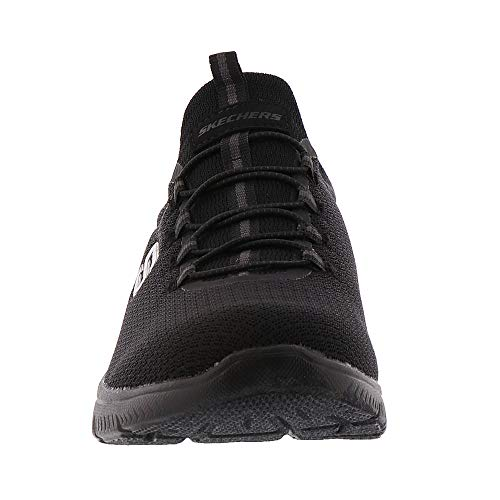 Grau GYLP Dynamight Through Damen Break Sneaker black 12991 Slipper Rosa Black Skechers 4q6ZHO