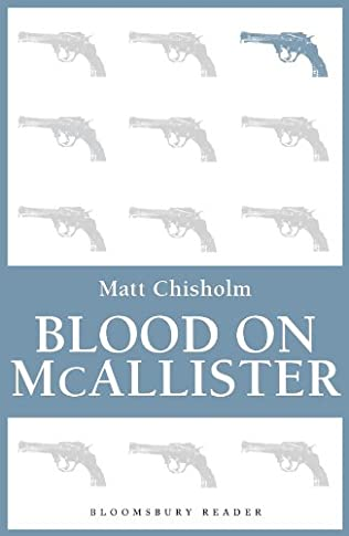 book cover of Blood on McAllister