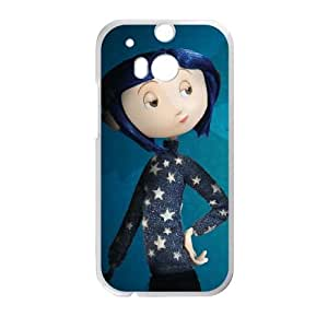 Coraline HTC One M8 Cell Phone Case White DIY Gift pxf005-3653601