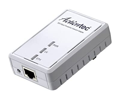 Actiontec 500 Mbps Powerline 1-Port Single Network Adapter (PWR511WB1)
