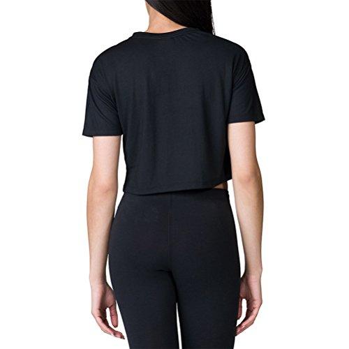 Bianco Nike Nero Donna Shirt Sportswear Essential T HnUr6Ynwx