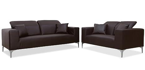 Menzzo Contemporain Tango sofá 3 + 2 plazas têtières ...