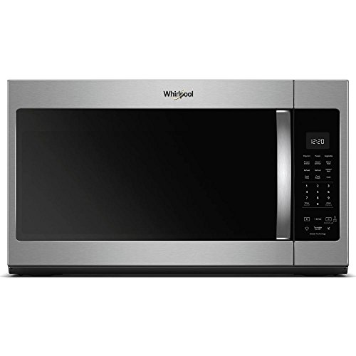 - Whirlpool 30 in. W 1.9 cu. ft. Over the Range Microwave in Fingerprint Resistant Stainless Steel with Sensor Cooking