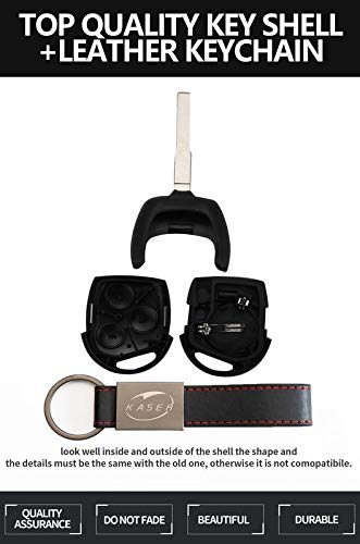 Carcasa/Llave/para/Ford/-/Funda/Mando/a/Distancia/3 Botones/para/Coche/Ford Mondeo Fusion Focus Fiesta C-MAX HU101 Blade