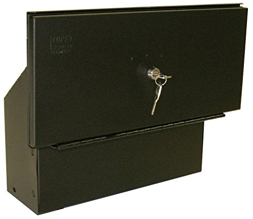 Tuffy 161-01 Toyota Tacoma Truck Bed Security Lockbox, Black