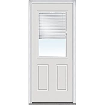 National Door Company Za00153 Fiberglass Smooth Primed Left Hand