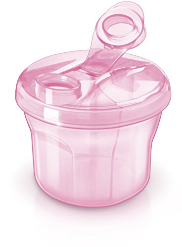 Philips AVENT Powder Formula Dispenser and Snack Cup, Pink from Philips AVENT