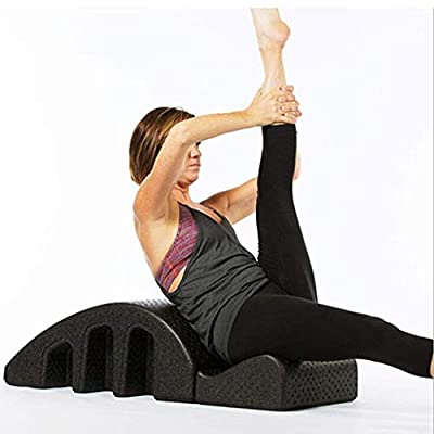 Yoga Pilates Massage Bed,Spine Orthosis Pilates Spinal Deformity Cervical Correction Foam Kyphosis Correction Fitness Equipment Pilates Arc