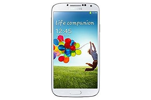 Samsung Galaxy S4 GT-I9500 Factory Unlocked Cellphone, 16GB, White (Unlock Phones Samsung Galaxy)