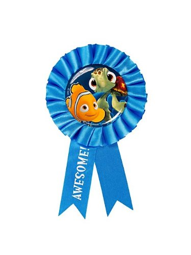 Finding Nemo Collectibles (Hallmark Mens Disney Nemo's Coral Reef Award Ribbon Aqua Medium)