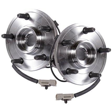 Callahan 513234X2 [2] Pair FRONT Premium Grade [ 5 Lug ABS ] Wheel Hub Bearing Assemblies [ 513234 ]