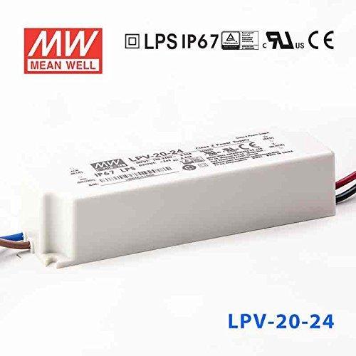 【特別セール品】 Meanwell W lpv-20 24 – 24電源供給_ 20 20 W 24 V_ ip67 B00FRBS48M, タマツクリグン:8c5cc68e --- svecha37.ru