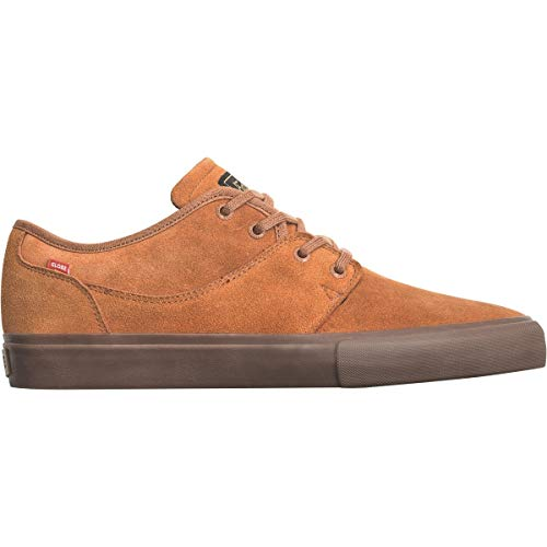 Globe Men's Mahalo Skate Shoe, Rust/Tobacco, 10 M US