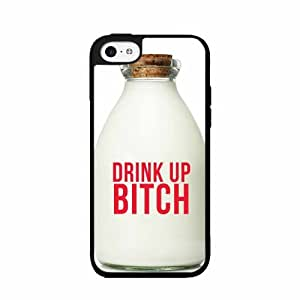 Drink Up Bitch - Plastic Phone Case Back Cover (iPhone 4/4s)