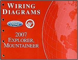 2007 Ford Explorer Wiring Diagram | 2007 Ford Explorer Mercury Mountaineer Wiring Diagrams Ford Motor