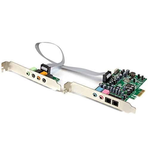 StarTech.com 7.1 Channel Sound Card, PCI Express PEXSOUND7CH