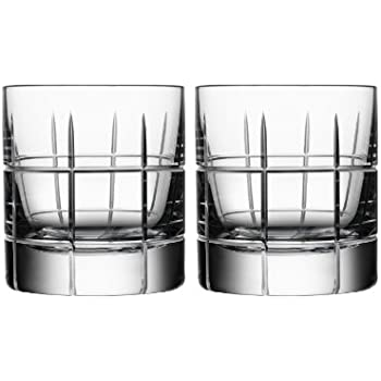 amazoncom orrefors street whiskey sour glass pair old