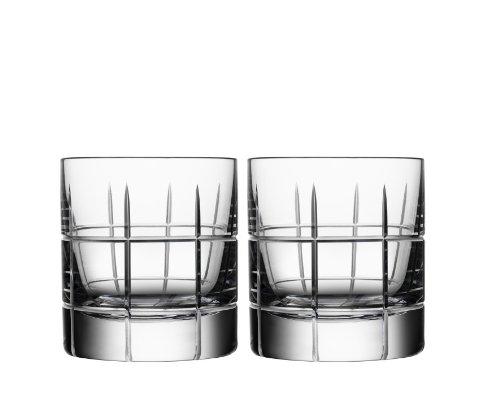 Orrefors Street Whiskey Sour Glass Pair