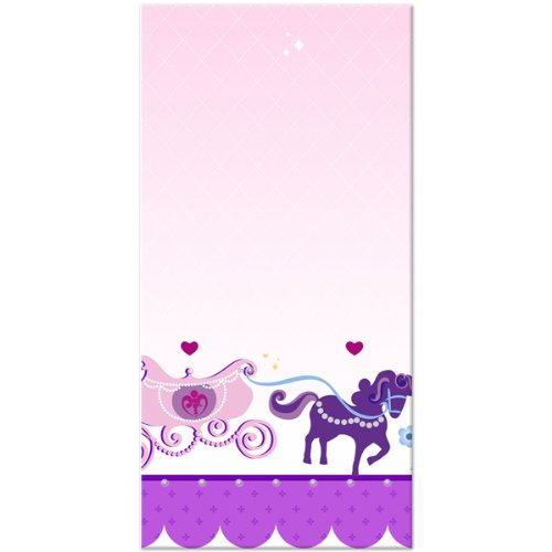 Sofia the First Party Supplies - Sofia Plastic Table Cover (Foil First Day Cover)